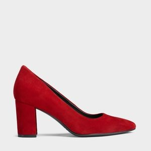 Red aerosole stacked heel pump